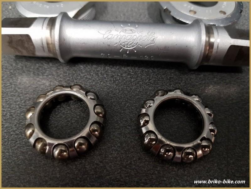 "Bottom bracket CAMPAGNOLO RECORD PISTA"" 109 mm (Ref 285)"