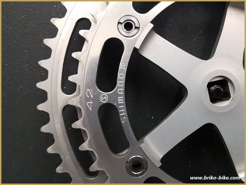 "Kurbelgarnitur ""DURA ACE G-200"" 170 mm (Ref 592)"