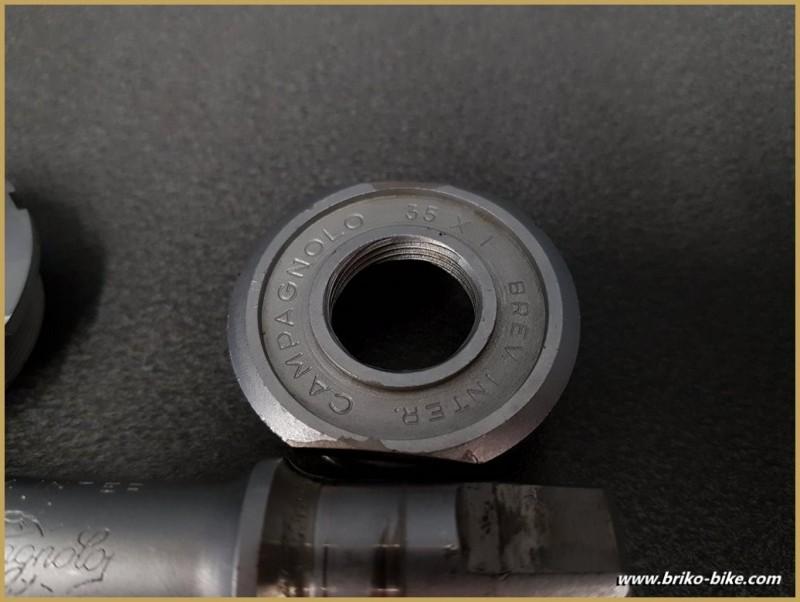 """Movimento centrale CAMPAGNOLO SUPER RECORD"""" 112 mm 35 x 1 (Rif 286)"""