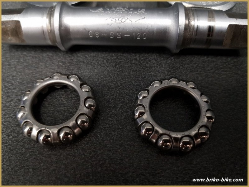 "Bottom bracket CAMPAGNOLO SUPER RECORD"" 112 mm 35 x 1 (Ref 286)"