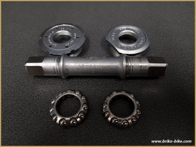 "Bottom bracket CAMPAGNOLO SUPER RECORD"" 112 mm 35 x 1 (Ref 287)"