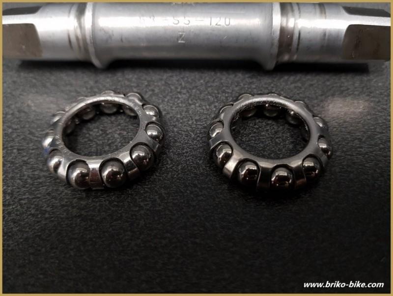 """Pedalier CAMPAGNOLO SUPER RECORD"""" 112 mm 35 x 1 (Ref 287)"""