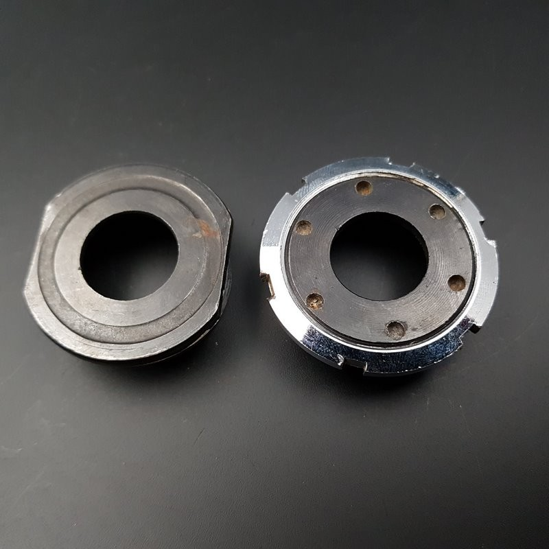 "Axe de pédalier ""OFMEGA"" 116 mm 35 x 1(Ref 289)"