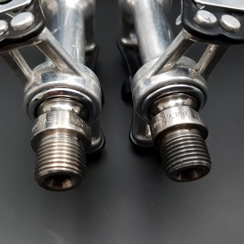 "Pedals CAMPAGNOLO SUPER RECORD TITANIUM"" BSC 9/16 x 20 (Ref 553)"