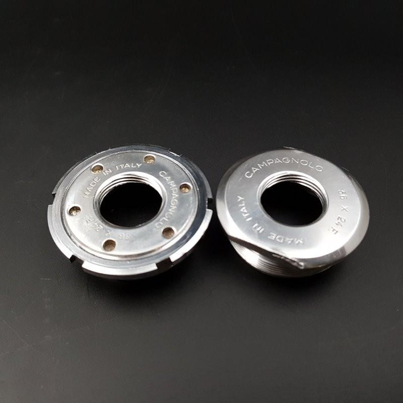 "Axe de pédalier ""CAMPAGNOLO C-RECORD"" 115 mm (Ref 295)"