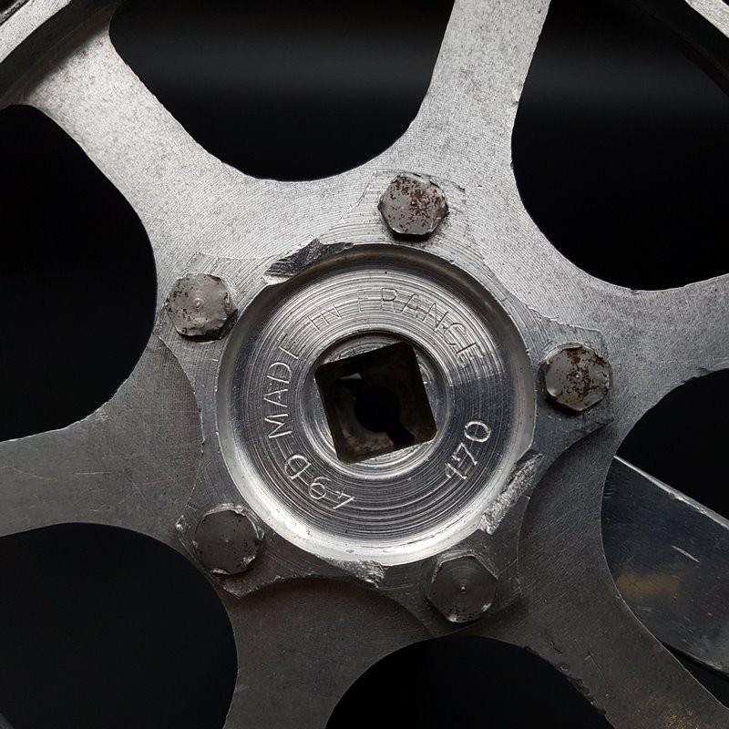"""Kettenradgarnitur """"STRONGLIGHT 49D"""" 170 mm Ref 601)"""