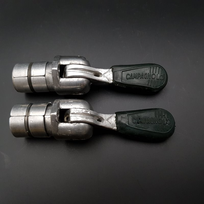 "Manettes de vitesses ""CAMPAGNOLO RECORD BAR END"" v (Ref 422)"
