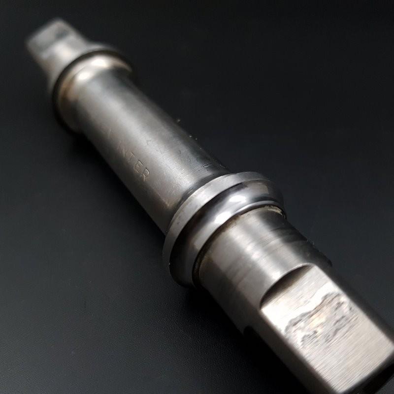 Pedalier CAMPAGNOLO SUPER RECORD de TITANIO 113 mm (Ref 297)