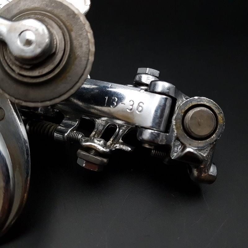 """Dérailleur arrière """"CAMPAGNOLO RECORD 1020 acier"""" 6v (Ref 1145)"""