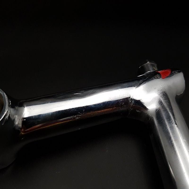 """Potence """"PHILIPPE acier chromé"""" 100 mm (Ref 627)"""