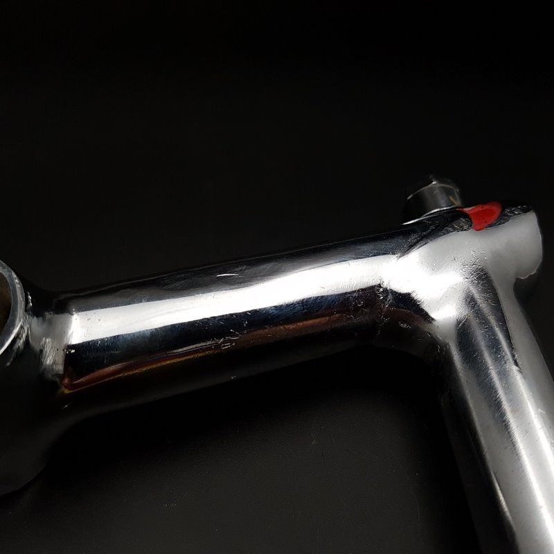 """Quill"" stem, PHILIPPE chrome steel"" 100 mm (Ref 627)"
