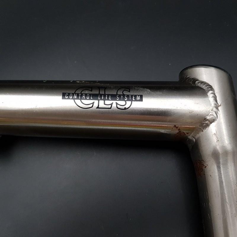 "Staminali MTB ""CLS"" in acciaio 130 mm 25,4 (Rif 621)"