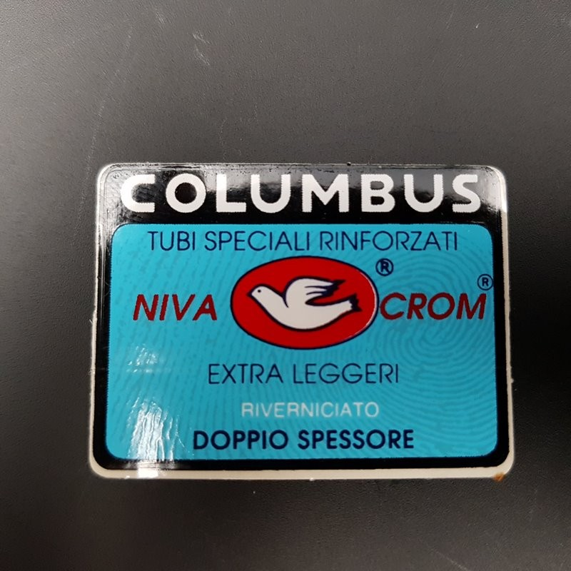 "Sticker frame ""COLUMBUS NIVA CROM"" OUR"