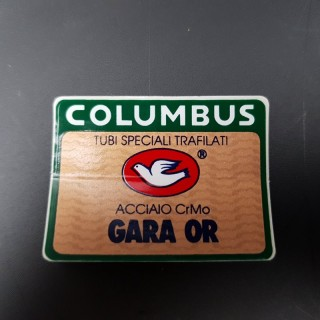 "Sticker frame /""columbus tsx/"" our"