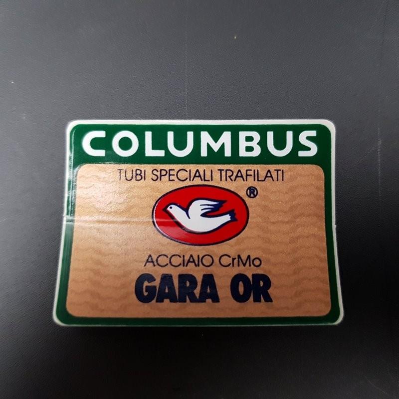 "Sticker cadre ""COLUMBUS GARA OR"" NOS"