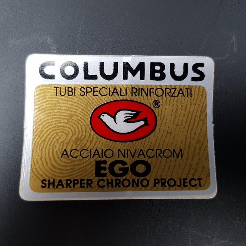 "Sticker frame ""COLUMBUS EGO,"" OUR"