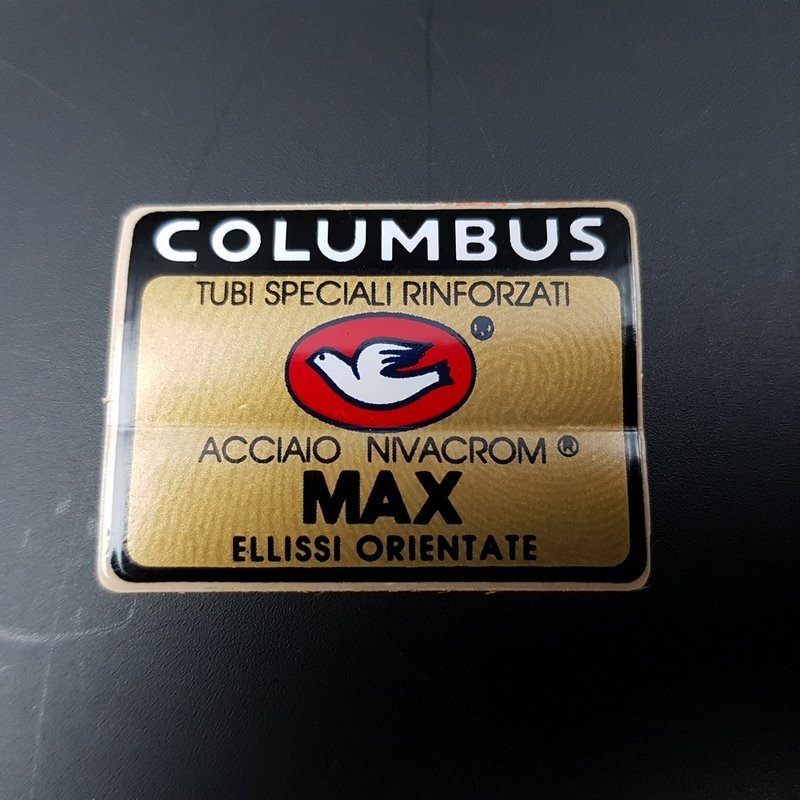 """Sticker frame COLUMBUS MAX"""" OUR"""