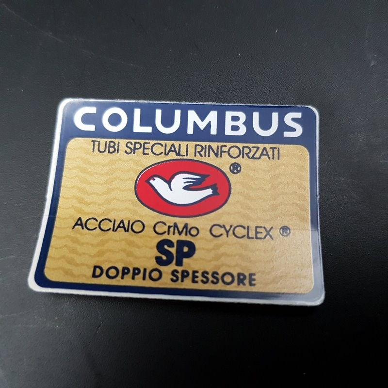 "Sticker-rahmen ""COLUMBUS SP"" UNSERE"