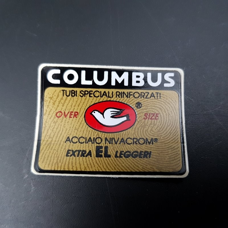 "Sticker cadre ""COLUMBUS EL"" NOS"