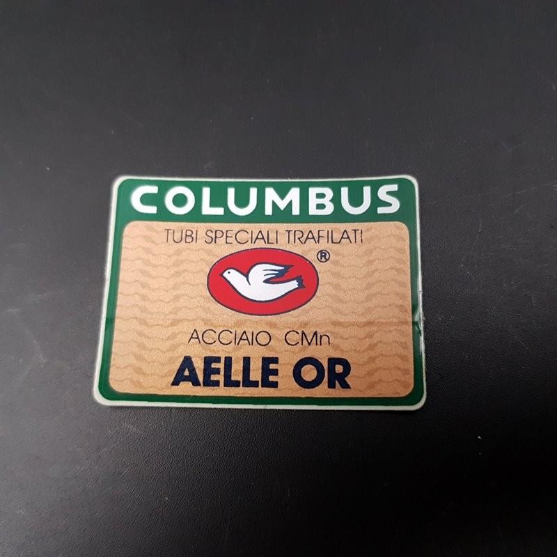 """Sticker cadre """"COLUMBUS AELLE OR"""" NOS"""