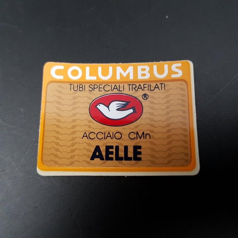 "Sticker cadre ""COLUMBUS AELLE"" NOS (ref 01)"
