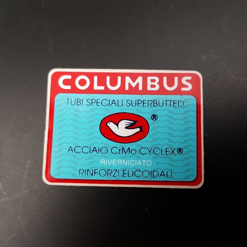 "Sticker cadre ""COLUMBUS CrMo Superbutted"" NOS"