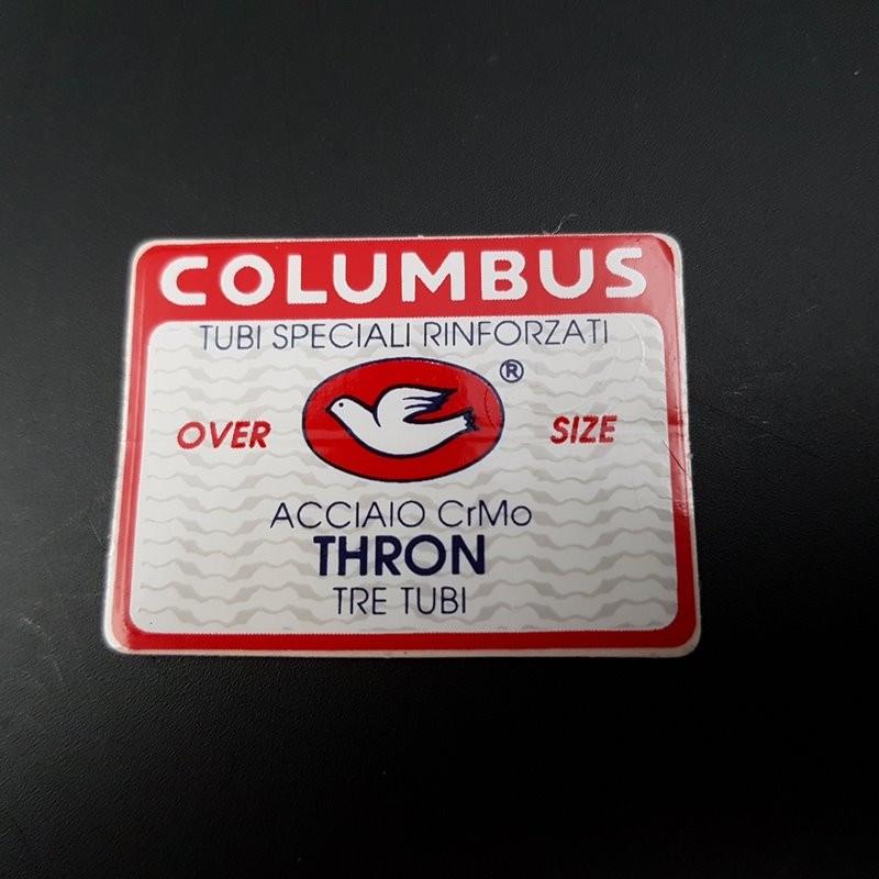 "Sticker cadre ""COLUMBUS THRON"" NOS"