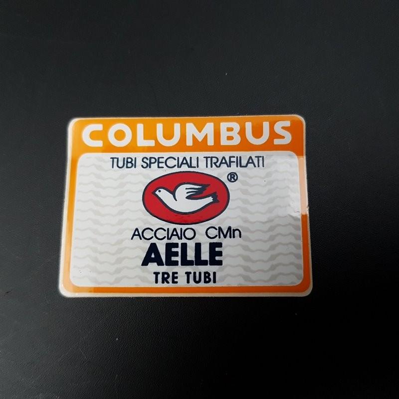 "Sticker cadre ""COLUMBUS AELLE"" NOS (Ref 02)"