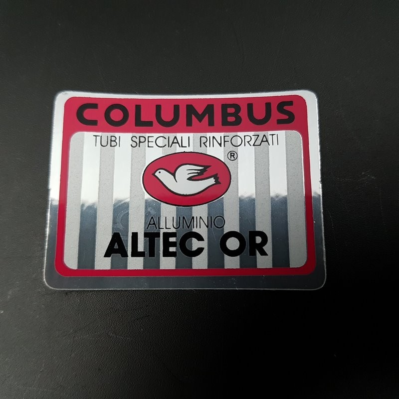 "Sticker cadre ""COLUMBUS ALTEC OR"" NOS"