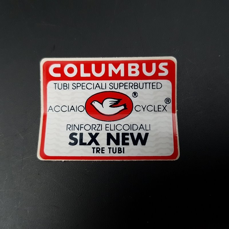 "Sticker cadre ""COLUMBUS SLX NEW"" NOS"
