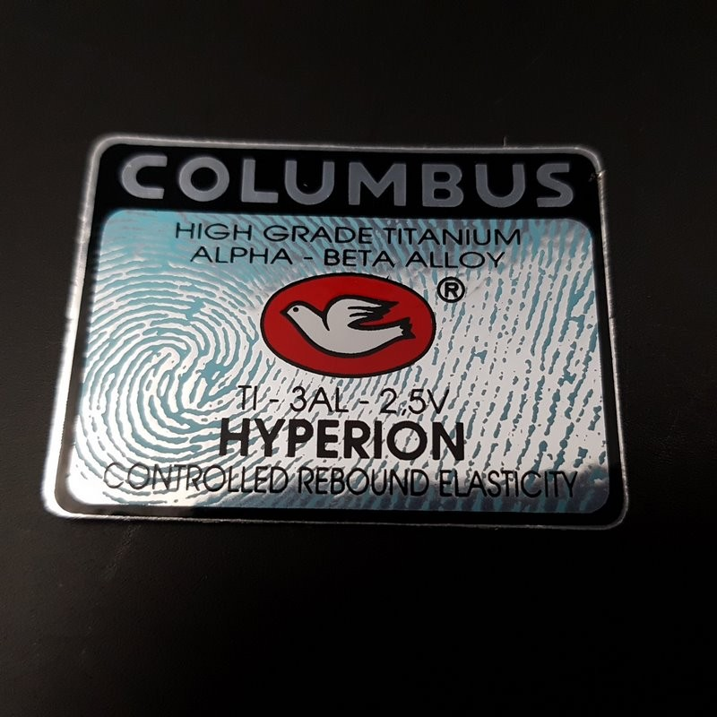 "Sticker frame ""COLUMBUS HYPERION,"" OUR"