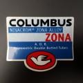 "Sticker-rahmen ""COLUMBUS "" ZONA"" UNSERE"