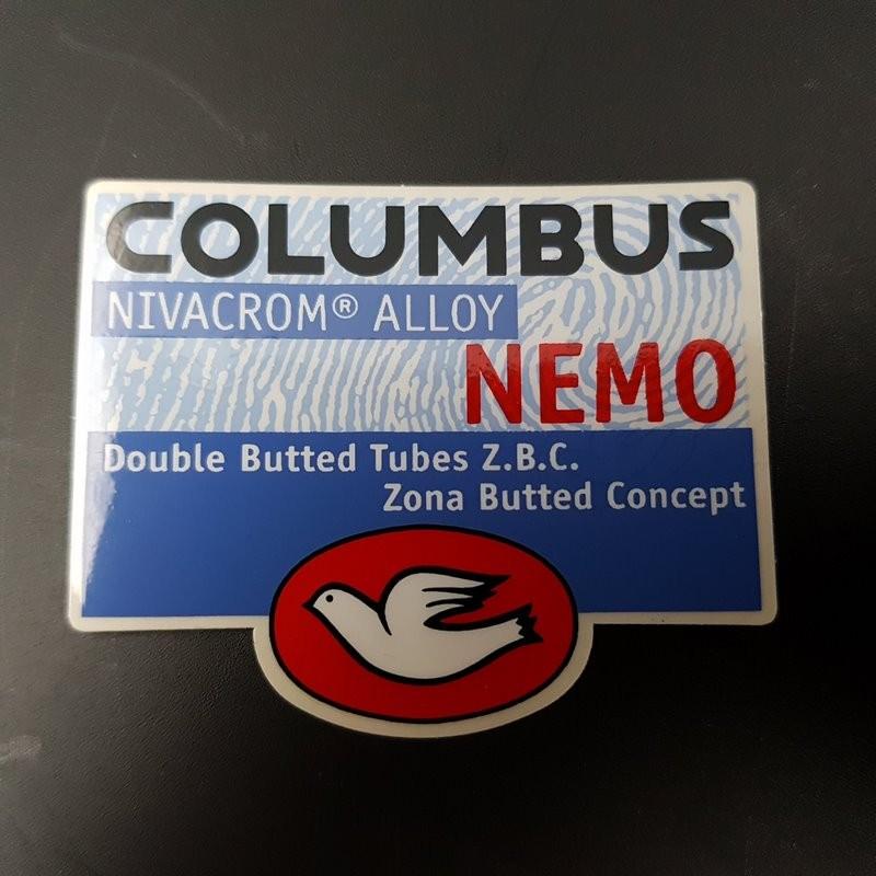 """Sticker cadre """"COLUMBUS NEMO"""" NOS"""
