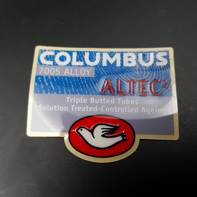 "Sticker cadre ""COLUMBUS ALTEC 2 relief"" NOS"