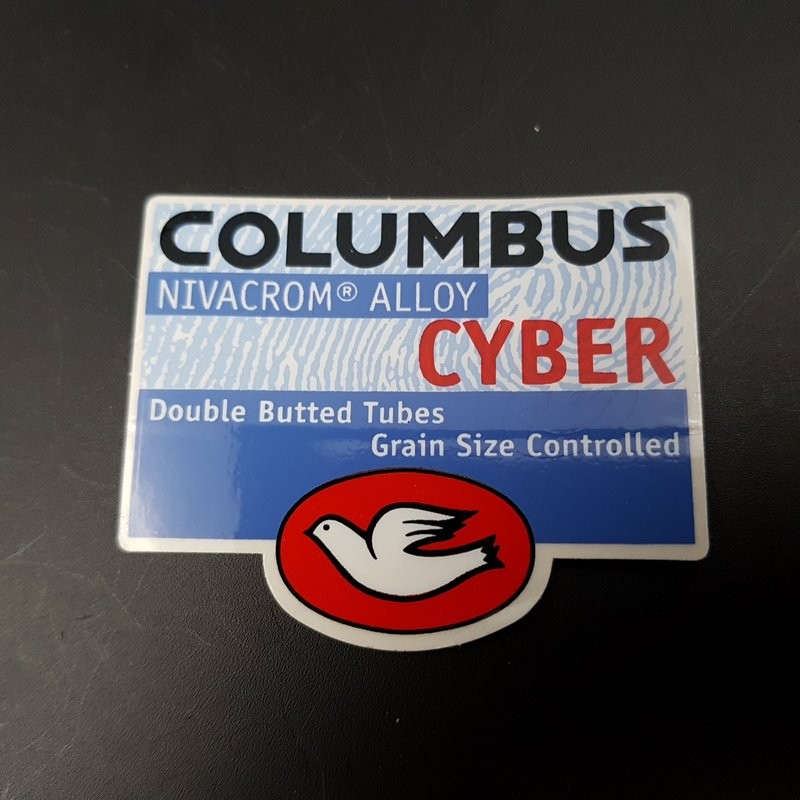 "Sticker frame ""COLUMBUS CYBER"" OUR"