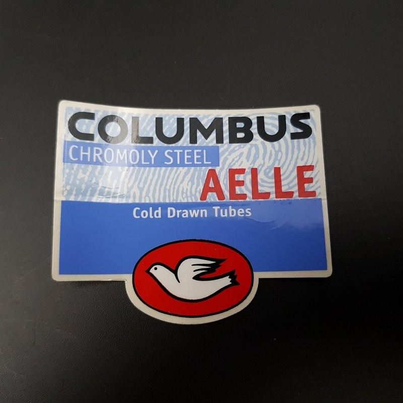 "Sticker cadre ""COLUMBUS AELLE"" NOS (Ref 03)"