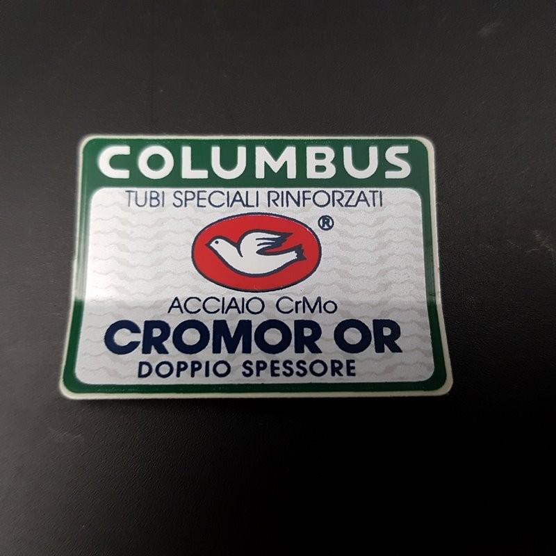 "Sticker frame COLUMBUS CROMOR or"" OUR"