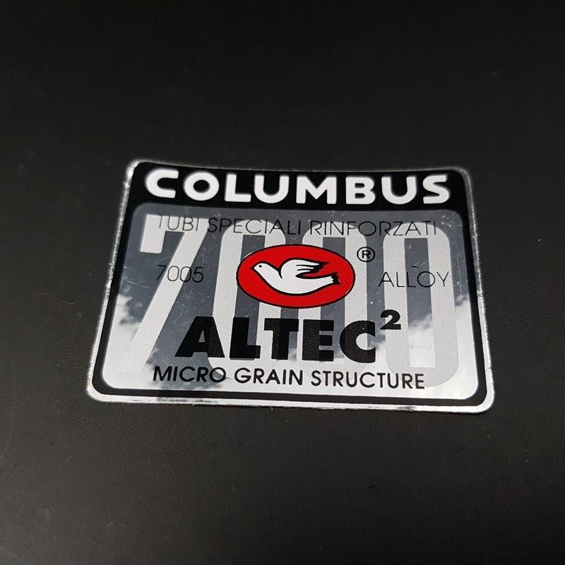 "Sticker frame ""COLUMBUS 7000 ALTEC 2"" OUR (Ref 03)"