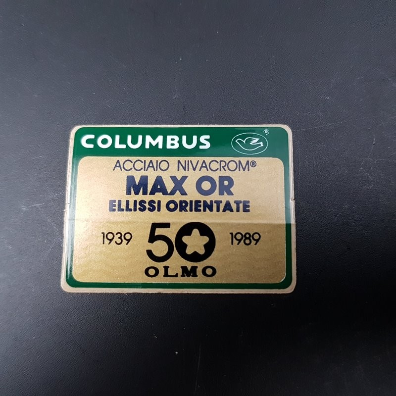 "Sticker frame COLUMBUS MAX GOLD OLMO"" OUR"