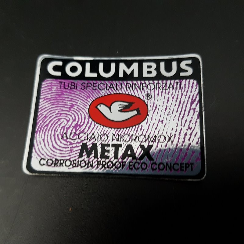 "Adesivo telaio ""COLUMBUS METAX"" la NOSTRA"