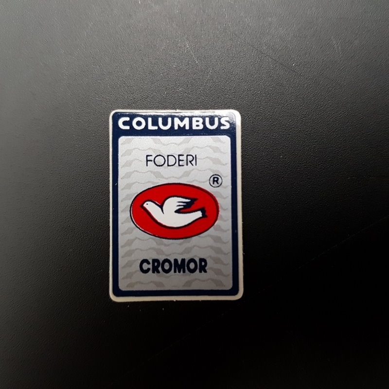 "Stickers fourche ""COLUMBUS CROMOR"" NOS"