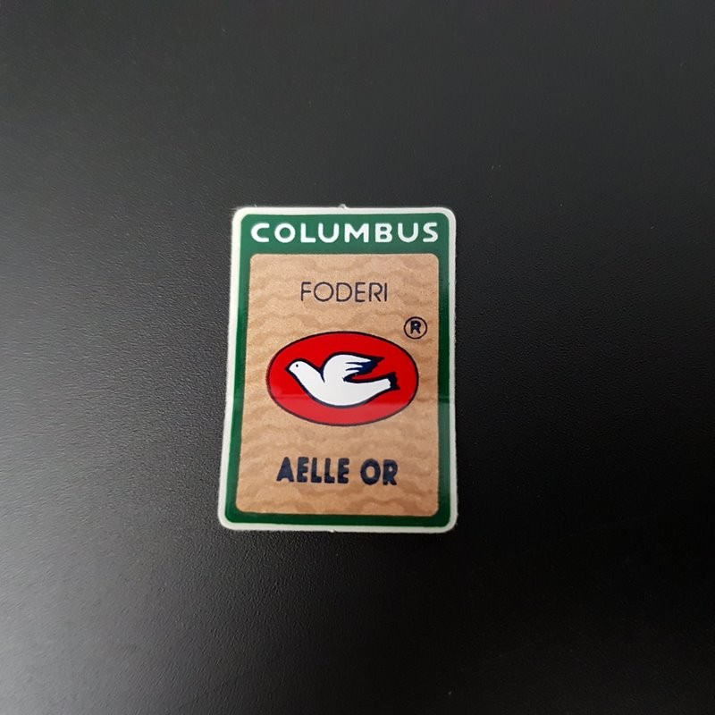 "Stickers fork COLUMBUS AELLE or"" OUR"