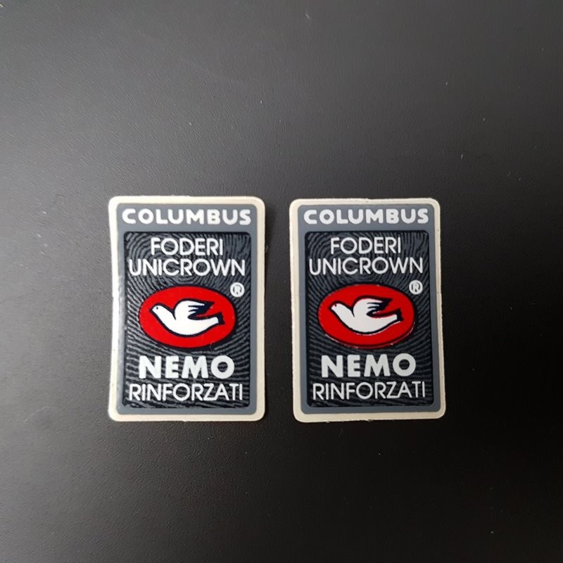 "Stickers fork ""COLUMBUS NEMO"" OUR"