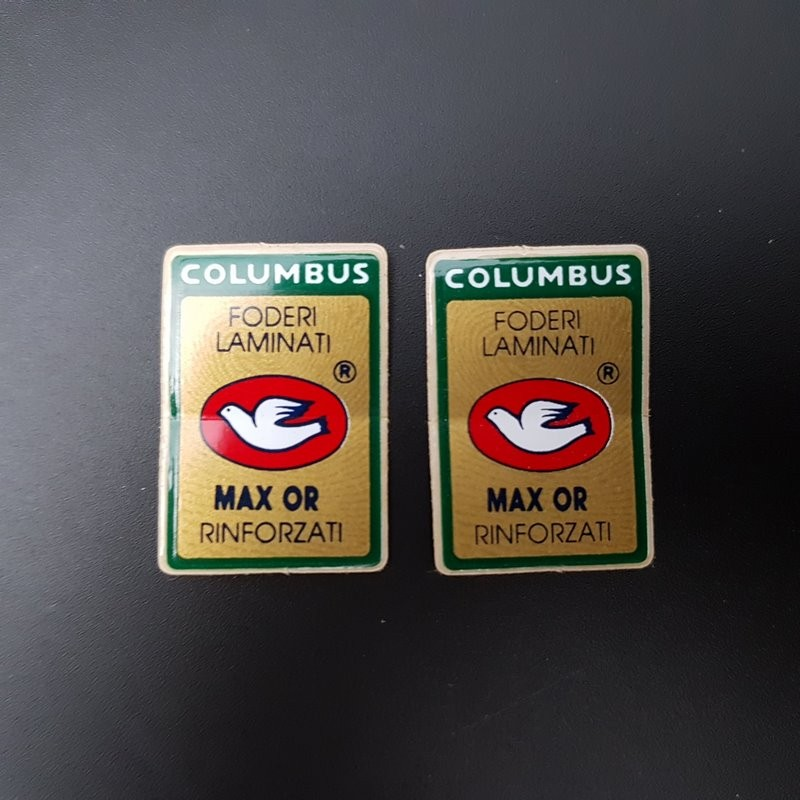 "Sticker gabel ""COLUMBUS MAX OR"" UNSERE"