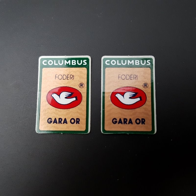 """Stickers fork COLUMBUS GARA or"""" OUR"""