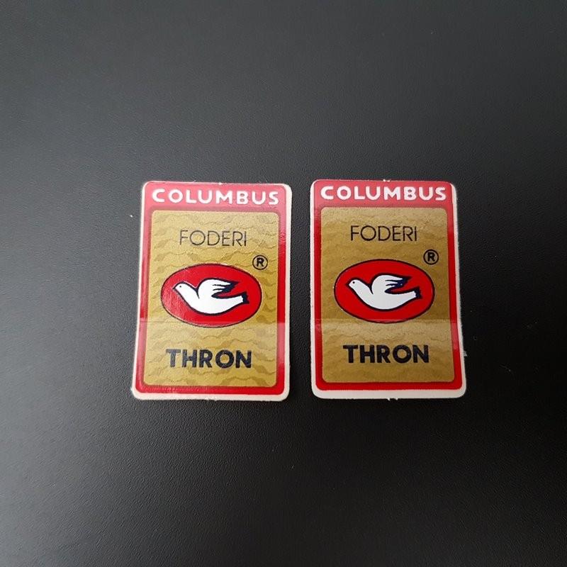 """Sticker gabel """"COLUMBUS THRON"""" UNSERE"""
