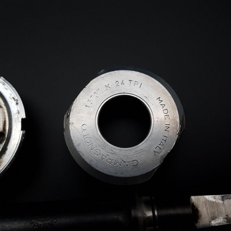 """Pedalier CAMPAGNOLO GRAN SPORT"""" 114 mm 1.37 x 24(Ref 300)"""