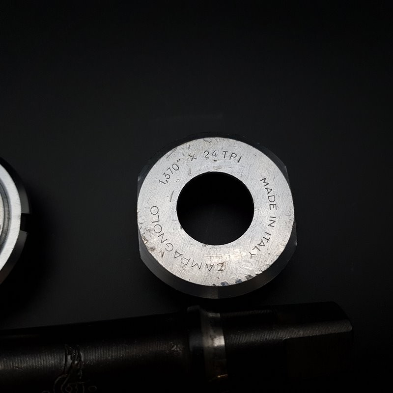 """Pedalier CAMPAGNOLO GRAN SPORT"""" 112 mm BSC 1.37 x 24 (Ref 305)"""