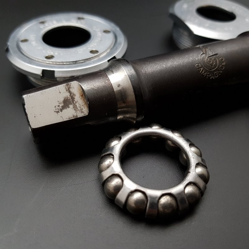 "Bottom bracket CAMPAGNOLO GRAN SPORT"" 112 mm BSC 1.37 x 24 (Ref 305)"