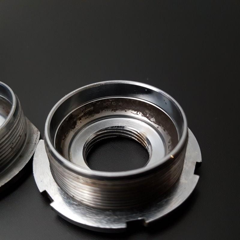 "Pedalier CAMPAGNOLO SUPER RECORD"" de 112 mm de 1.37 x 24 (Ref 306)"